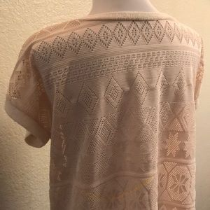 Papermoon loose-fit short sleeve knit sweater!